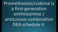 How to pronounce promethazine with codeine (Phenergan w/codeine) (Memorizing Pharmacology Flashcard)