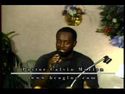 Pastor Calvin Marion @ BCOG Clearwater
