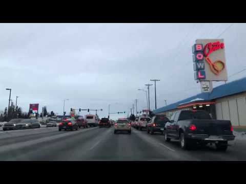 Afternoon Drive - Anchorage Alaska - January 13th 2019
