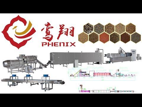 Fish Feed Machine | Jinan Phenix Machinery ®