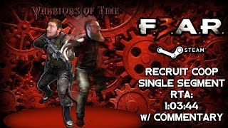 F.E.A.R. 3 Speedrun w/ Commentary (1:03:44) - Coop - SS - Steam - Recruit