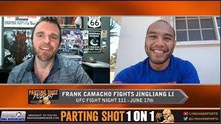 EXCLUSIVE: Frank Camacho talks UFC debut June 17th against Jingliang Li