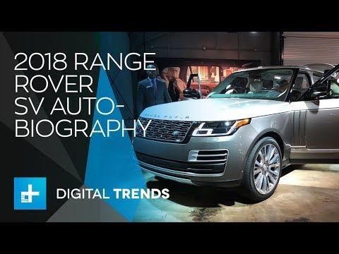 2018 Range Rover SV Autobiography – LA Auto Show