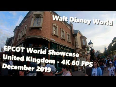 UK Pavilion Epcot World Showcase Walkthrough