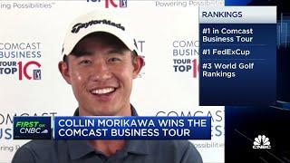 Rising golf star Collin Morikawa prefers to save winnings