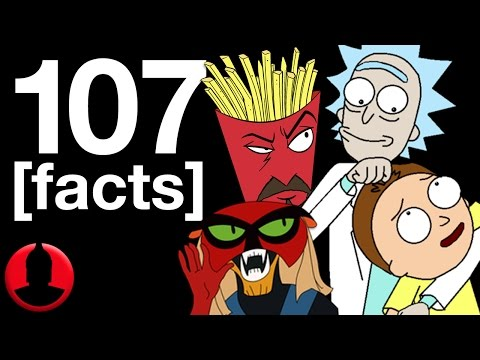 107 Adult Swim Facts (ToonedUp #192) | ChannelFrederator