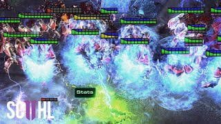 BANELING SURROUND! - Starcraft 2: Serral vs. Stats