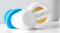 QuietOn Active Noise Cancellation & Acoustic Noise Attenuation Earplugs Unboxing Review