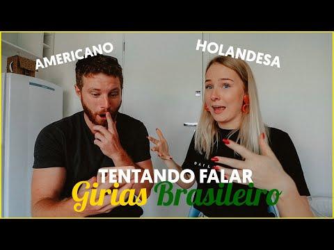 GRINGA APRENDER BRAZILIAN GÍRIAS