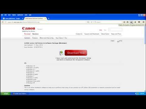 Canon G2000,Printer Driver Download