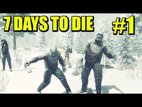 7 DAYS TO DIE #1 - Cooperativo, ENCERRADOS!!! Primeras oleadas | Gameplay Español
