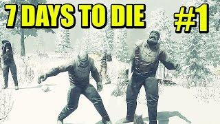 7 DAYS TO DIE - Cooperativo, ENCERRADOS!!! Primeras oleadas | Gameplay Espanol