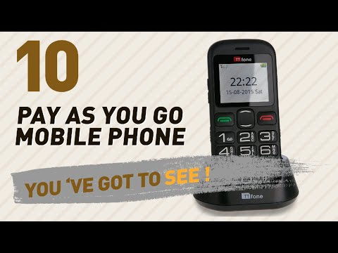 Pay As You Go Mobile Phones UK Collection // The Most Popular 2017