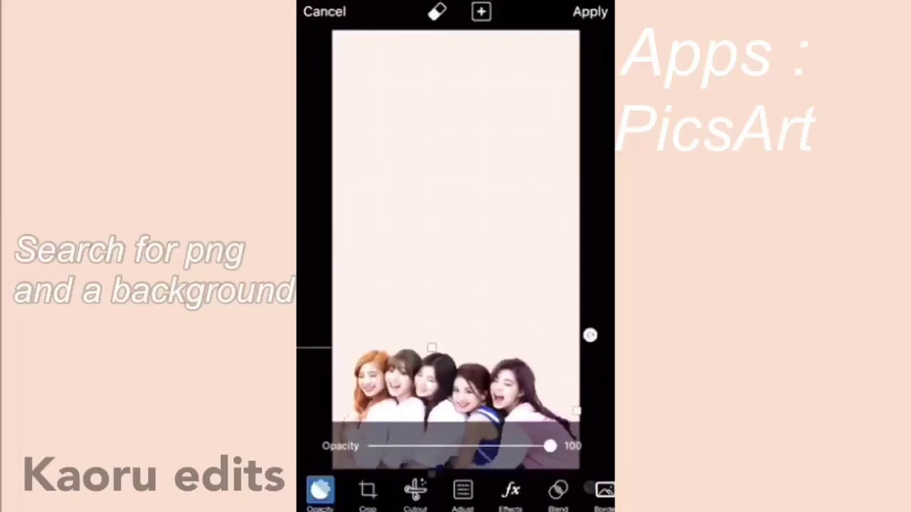 How To Make A Kpop Wallpaper Using Your Phone For Free