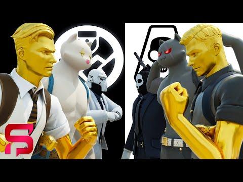 SHADOW VS GHOST - Fortnite's SECRET WAR BEGINS... ( Fortnite Film )