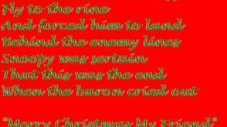Snoopy's Christmas Lyrics