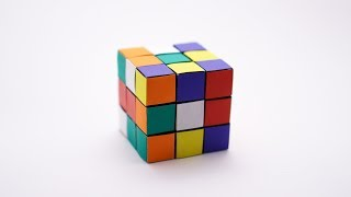 ORIGAMI RUBIK'S CUBE (Jo Nakashima) - no glue! - Static version