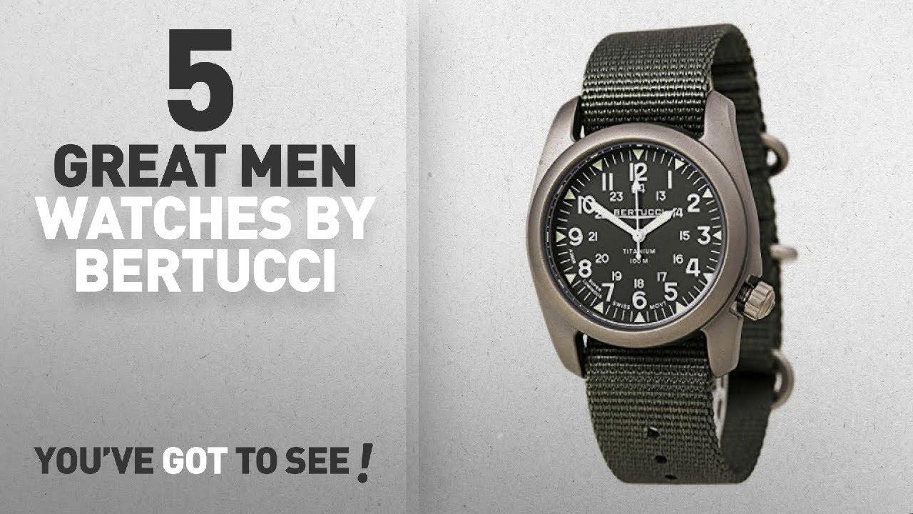 5e0616ab387 Top 10 Bertucci Men Watches   Winter 2018    Bertucci A-2T Vintage ...