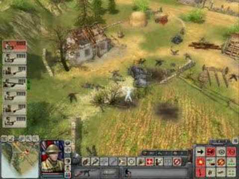 StuG IV вырывается из окружения В ТЫЛУ ВРАГА 2 Face of War