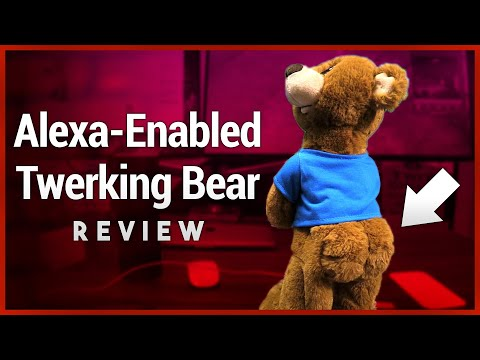 Gemmy Twerking Bear Review - Alexa-Enabled Plush Teddy That Twerks to Amazon Music