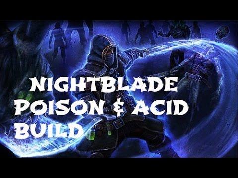 [Grim Dawn] Nightblade - Poison & Acid Build