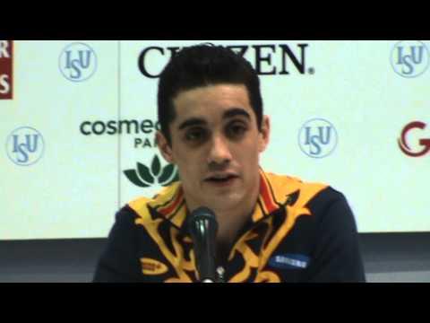 European Figure Skating Championships 2013 - Men Short Program Press Conference