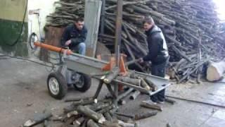 Repeat youtube video Дровокол (колун) K-450.1200 бензопила не нужна