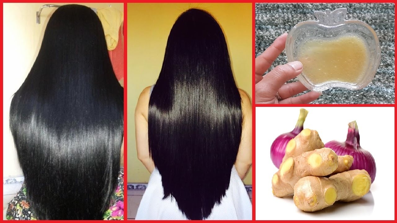 Ginger Onion Hair Mask How To Get Thick Hair Healthy Hair Long