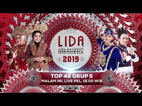 MALAM INI! Lantunkan Dukunganmu untuk Grup 5 di LIDA 2019 Top 48 Grup 5! - 22 Februari 2019