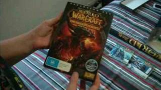 world of warcraft cataclysm unboxing