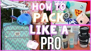One of Cassie Diamond's most viewed videos: What to Pack on Vacation! How to Pack like a PRO!✈︎