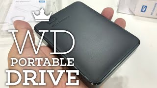 Western Digital WD 4TB Elements Portable External Hard Drive Unboxing