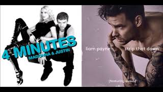 4 Minutes / Strip That Down (Madonna, Justin Timberlake / Liam Payne ft. Quavo) Mashup
