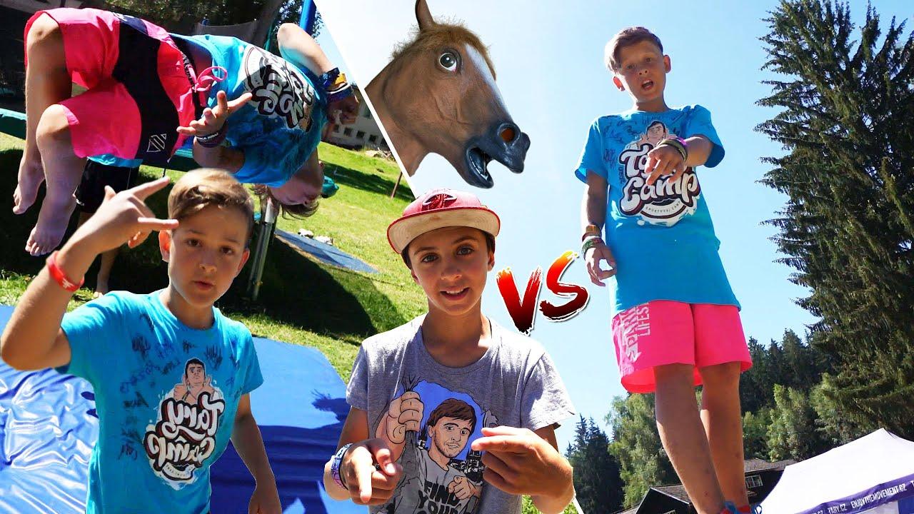 Dětský Horse Challenge, Kuba vs. Mára vs. Filip | Tary Camp 2020