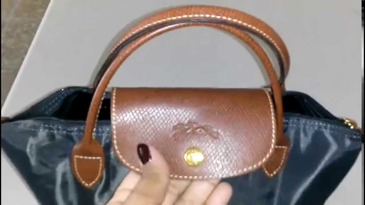 66650399801 Longchamp le pliage mini tote - YouTube