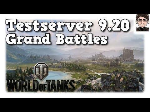 World of Tanks - Testserver 9.20, Grand Battle / Großgefecht Preview [deutsch | News]