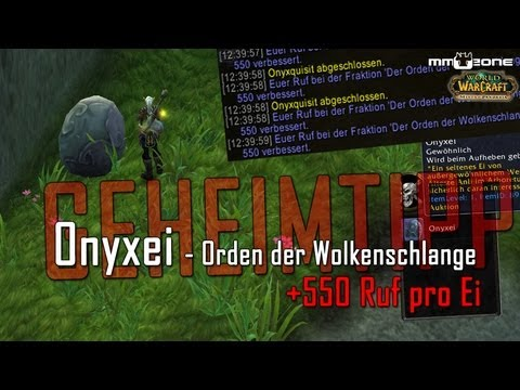 Onyxei (550 Ruf Für Orden Der Wolkenschlange) - Wow.mmozone.de