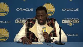Draymond Green Postgame Interview / GS Warriors vs Thunder / Feb 24