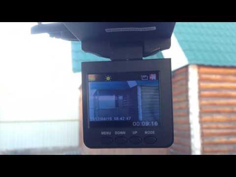 Как установить время и дату на видеорегистраторе