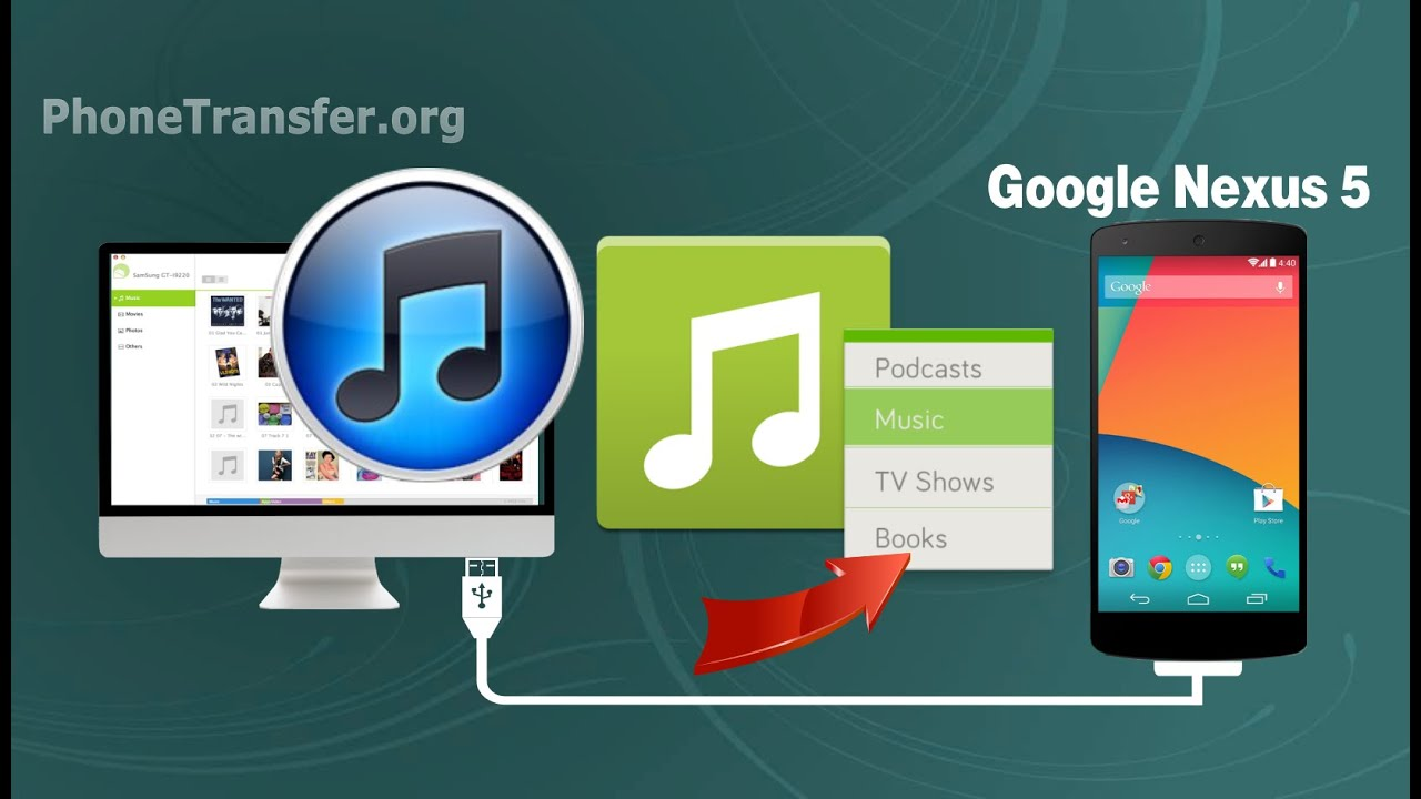 how to sync google play music with itunes