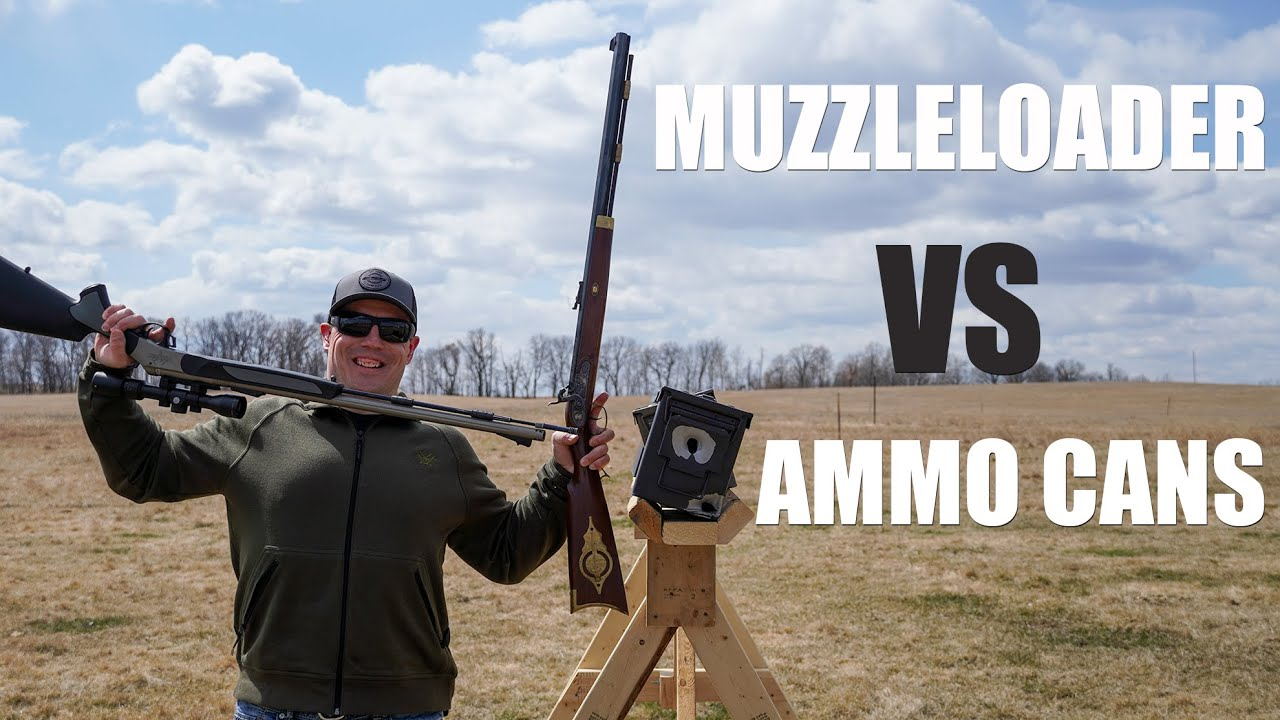 50 Cal Muzzleloader vs 50 BMG Ammo Cans | Gould Brothers