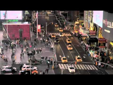 New York at Night Ambient Traffic Noise ( 1 Hour )