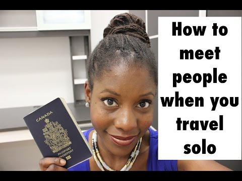 How To Meet People When You Travel Solo | Travel tips + Making friends on the road