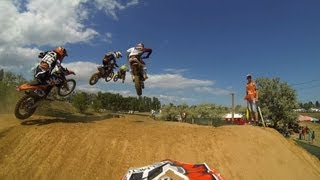 MX3 Round of Ukraine 2013 -- Qualifying Race -- Motocross