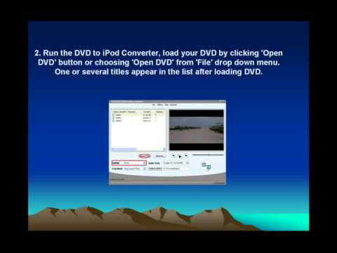 How To Convert DVD Movie To IPod Video With Cucusoft DVD To IPod Converter