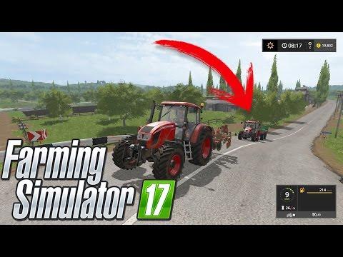 Farming Simulator 17 | Fazendo um Trator Seguir o Outro! Mod Follow me | PT-BR |