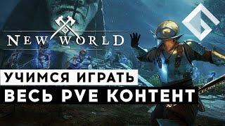 MMORPG NEW WORLD — ВЕСЬ PVE КОНТЕНТ В ИГРЕ ГАЙД ПО PVE АКТИВНОСТЯМ В NEW WORLD