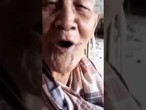 VIRAL!!! Vidio Kakek Tua Bilang Udah Pada Ngopi Belum