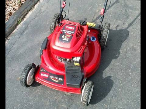 Carburetor Cleaning Tune Up Of Toro 6 5hp Lawnmower With Teseh Engine
