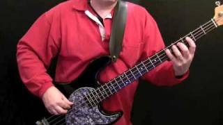 How To Play Bass to Time Is Tight - For Beginners